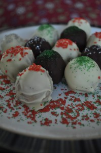 Spiced Sugar Cookie Truffles